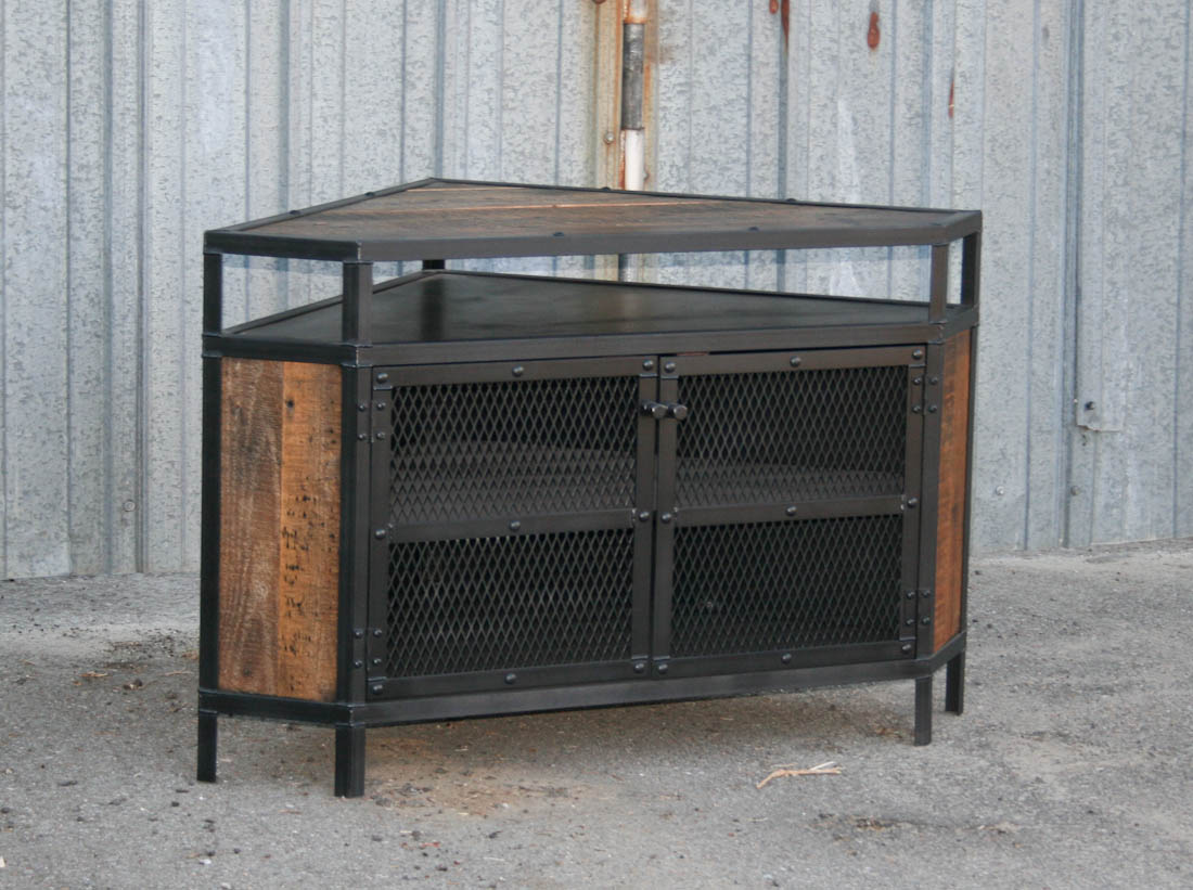 Modern Industrial Corner Unit