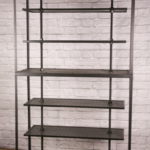 Modern industrial retail shelving