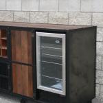 Industrial Refrigerator unit Liquor Cabinet