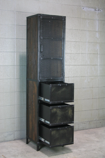 Combine 9 Industrial Furniture Industrial Cabinet
