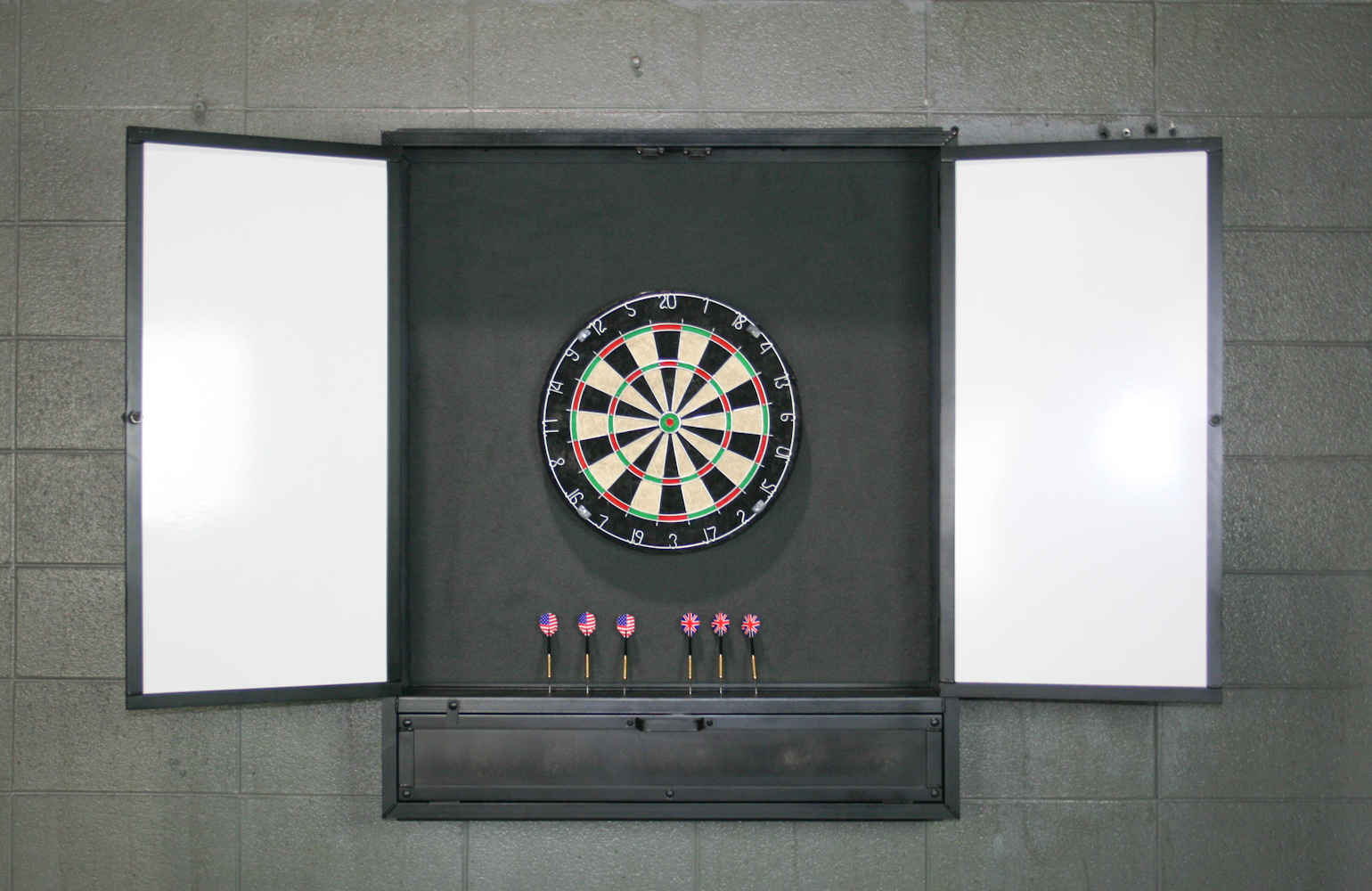 Combine 9 | Industrial Furniture – Dartboard Cabinet/ Wall Cabinet