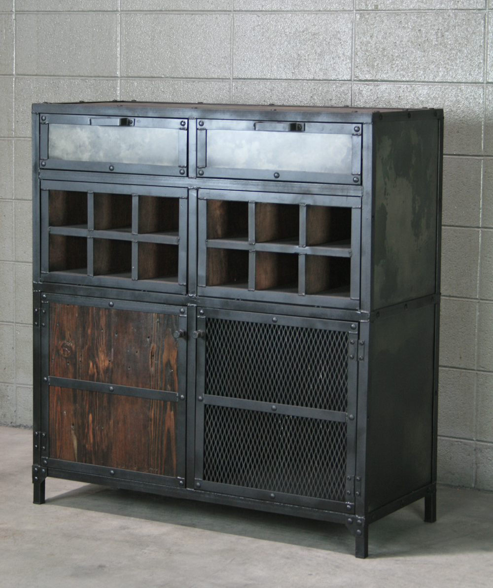 combine 9 industrial furniture modern industrial. Black Bedroom Furniture Sets. Home Design Ideas