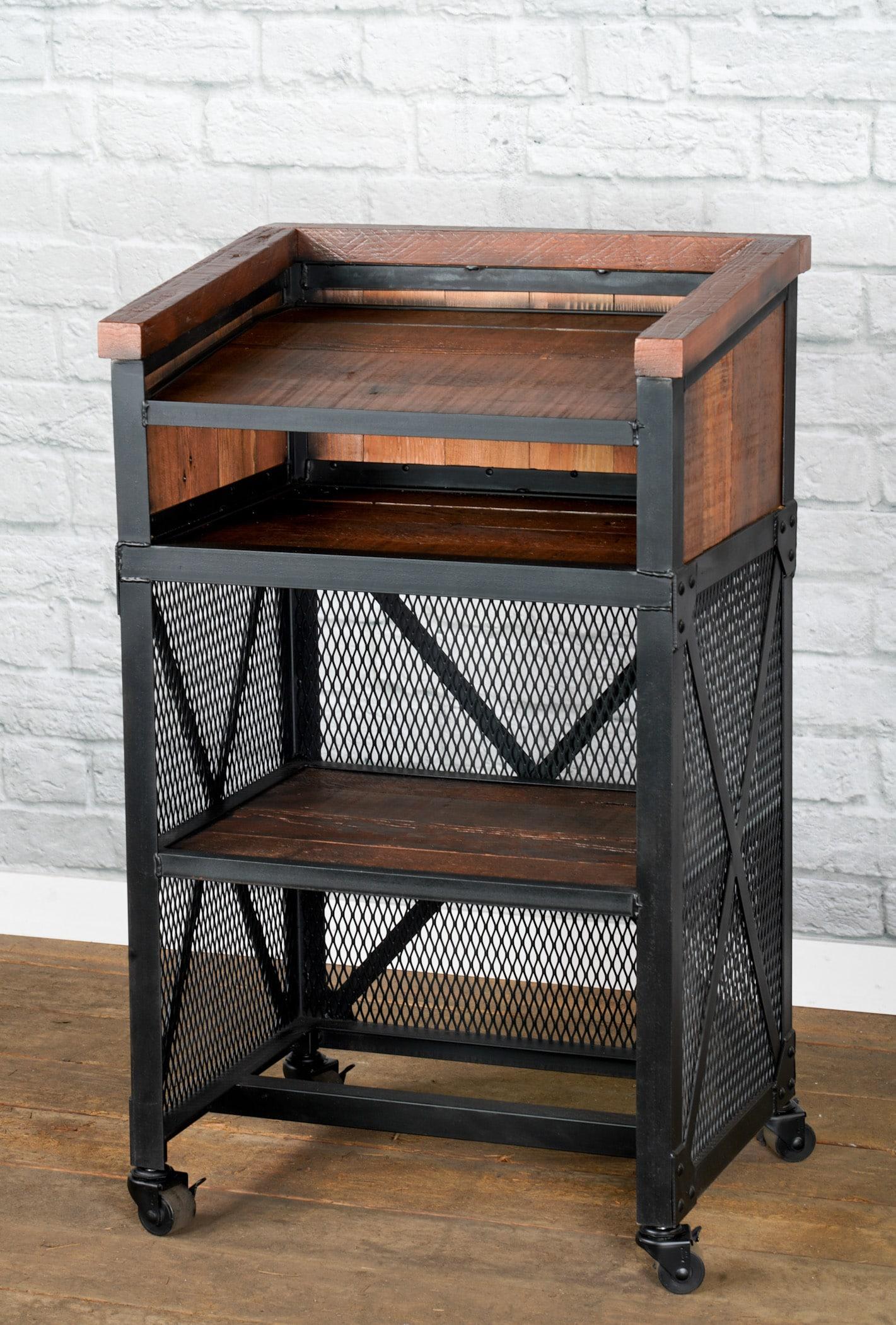 rustic podium