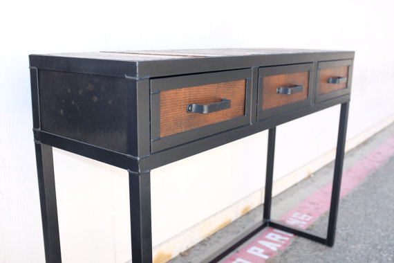 Combine 9 Industrial Furniture Categories Reclaimed Wood