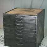 Vintage Flat File Cabinet