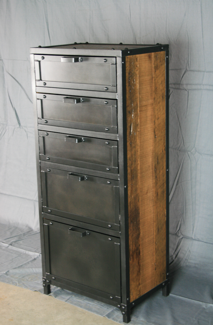 Combine 9 Industrial Furniture Modern Industrial Lingerie Chest
