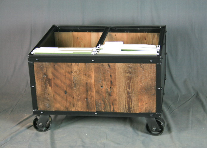 Industrial File Cart