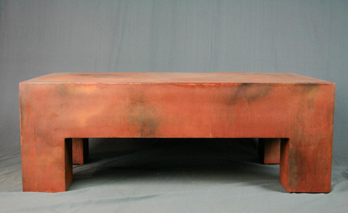 Combine 9 Industrial Furniture Modern Coffee Table
