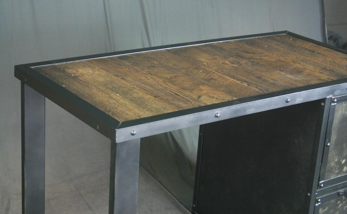 Combine 9 Industrial Furniture Industrial Desk With