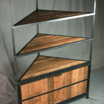 Modern Rustic Shelving unit