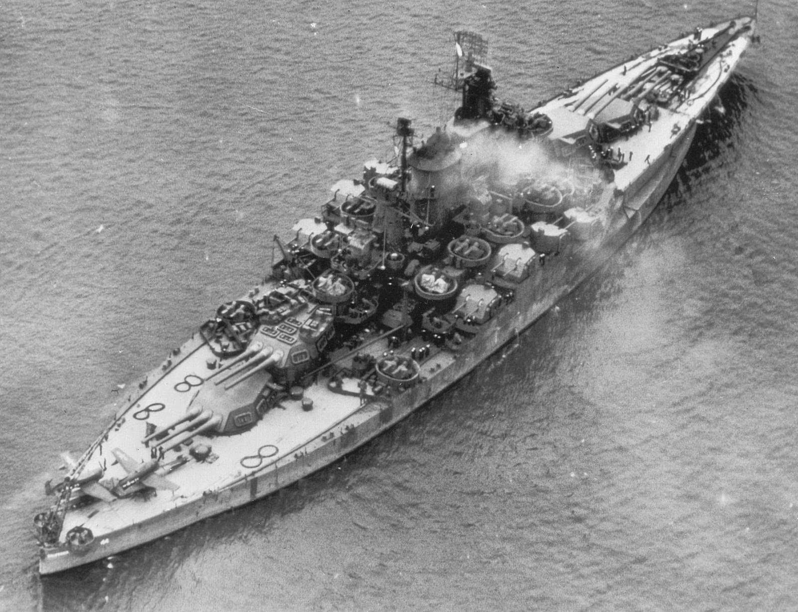 Battleship Uss California Teak Combine 9 Industrial