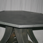 modern industrial bistro table