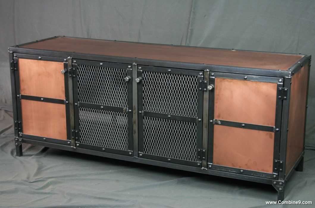 Combine 9 Industrial Furniture Industrial Style Copper
