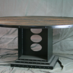 Industrial Round Conference Table