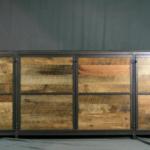 Vintage Modern TV Lift Cabinet