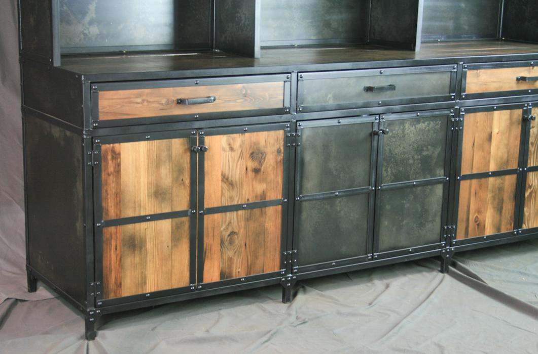 Combine 9 Industrial Furniture Rustic Reclaimed Wood
