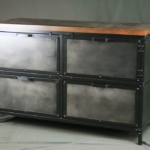 Modern filing cabinet