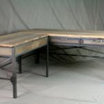 Vintage Style L Shaped Desk