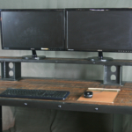 Industrial Modern reclaimed wood Desk