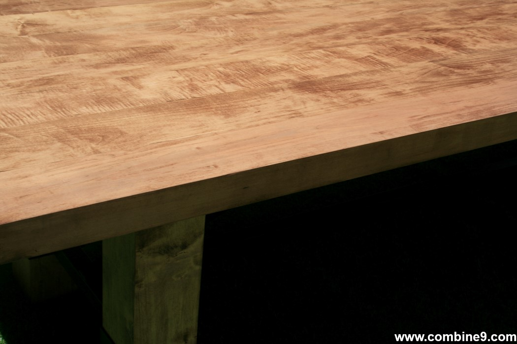Combine Industrial Furniture Conference Table Dining Table - Handmade conference table
