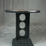 Vintage Industrial Bistro Table