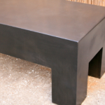 industrial modern coffee table
