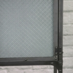 frosted wire glass