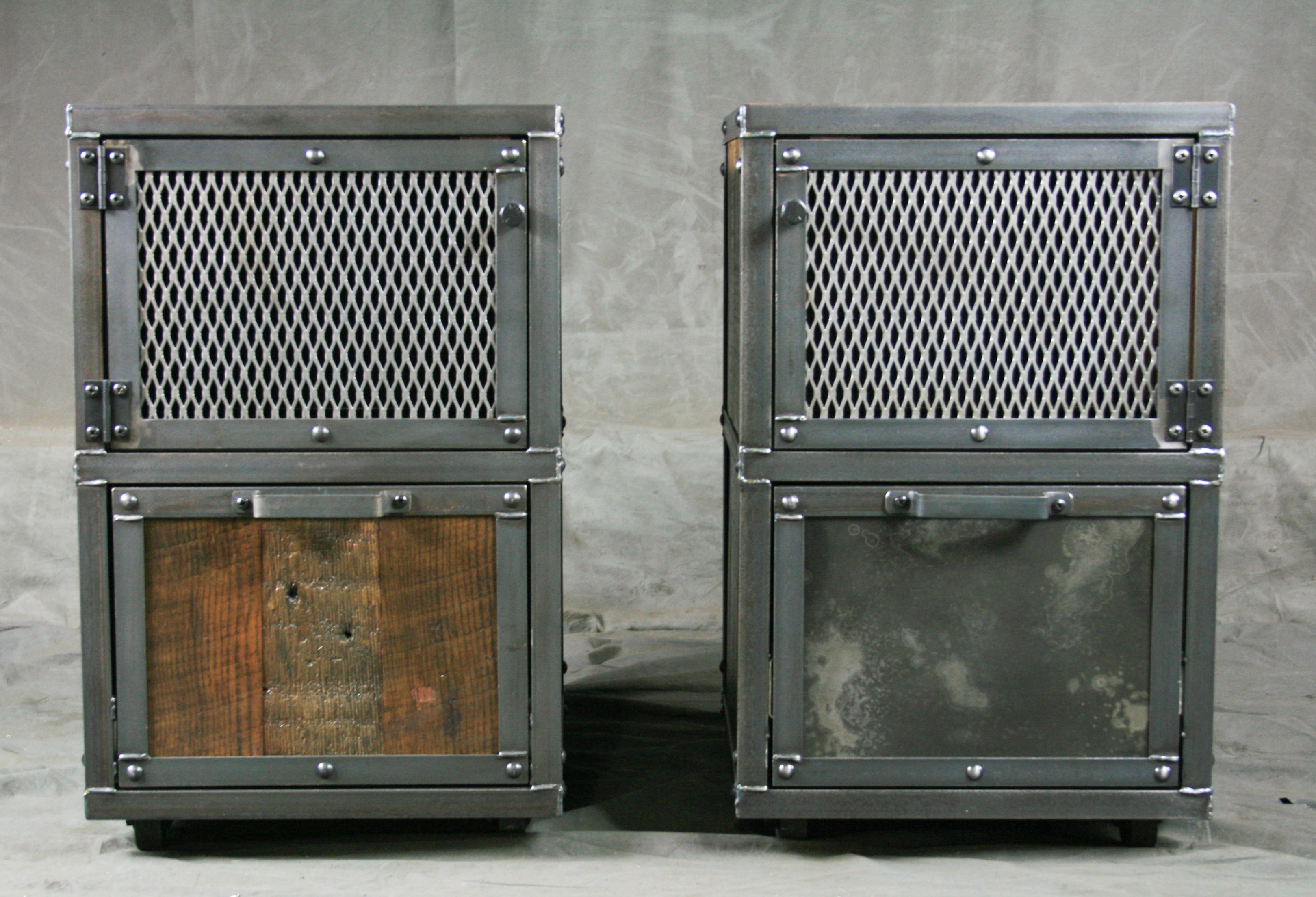 Small industrial file cabinet