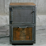 file cabinet with reclaimed wood