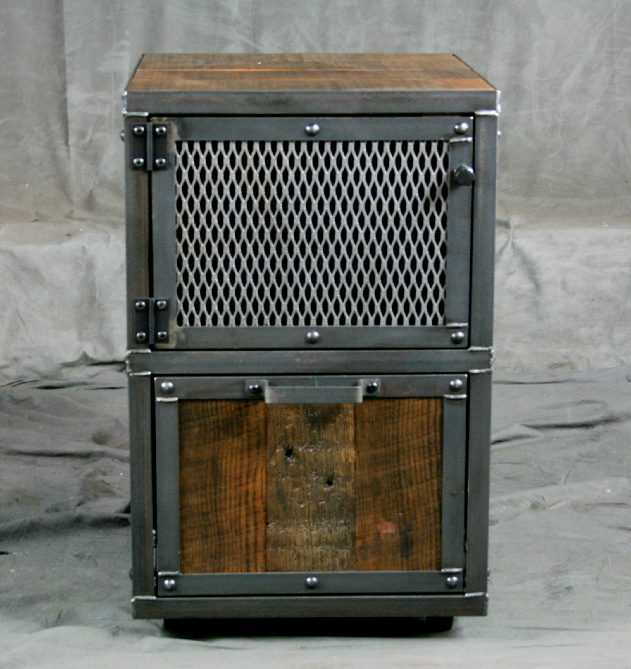 Modern Industrial File Cabinet