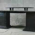 Modern desk with storage