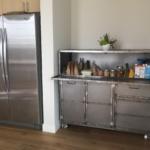 Modern steel storage cabinet