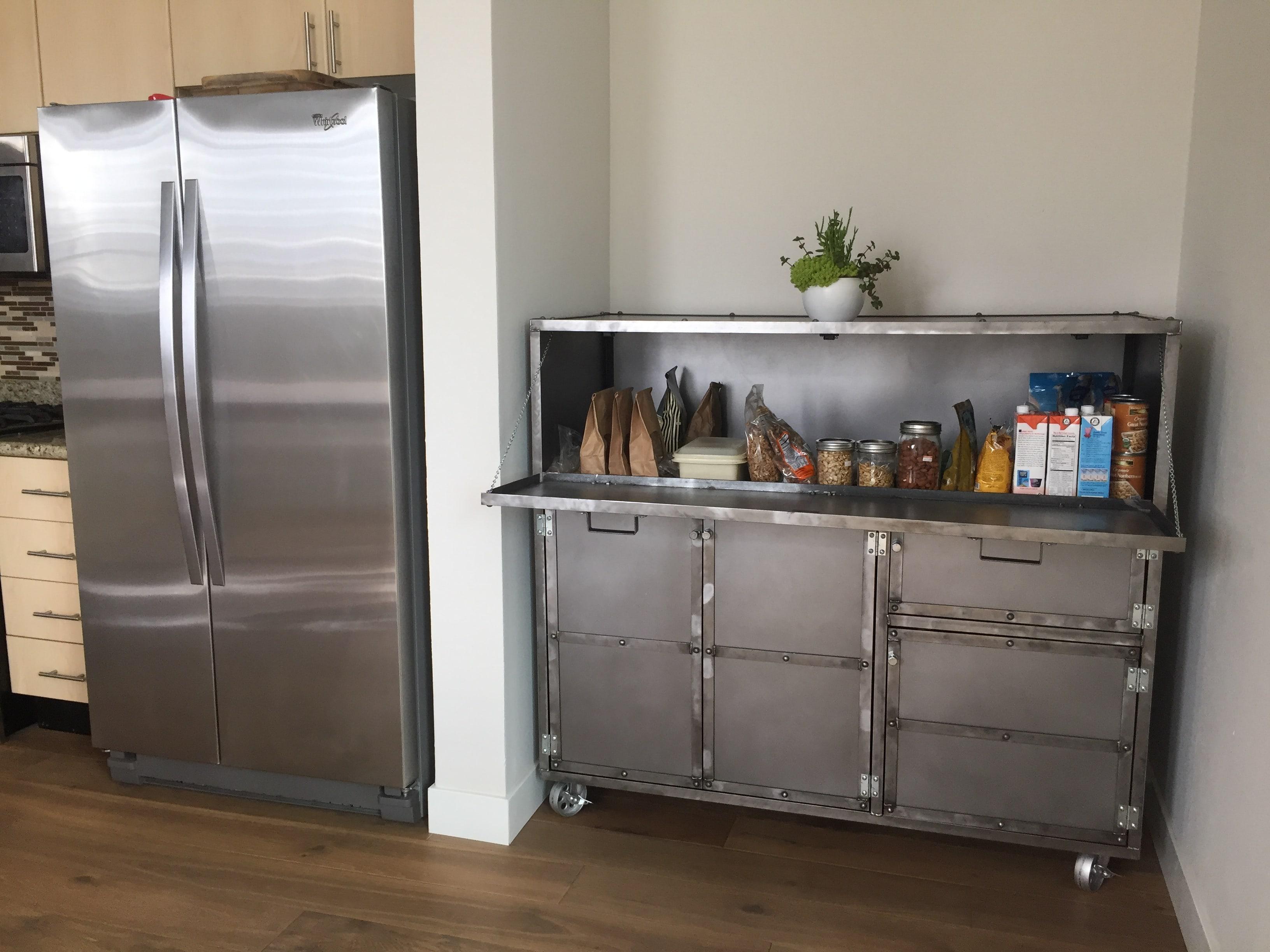 Industrial Kitchen Cabinet - Combine 9 | Industrial Furniture
