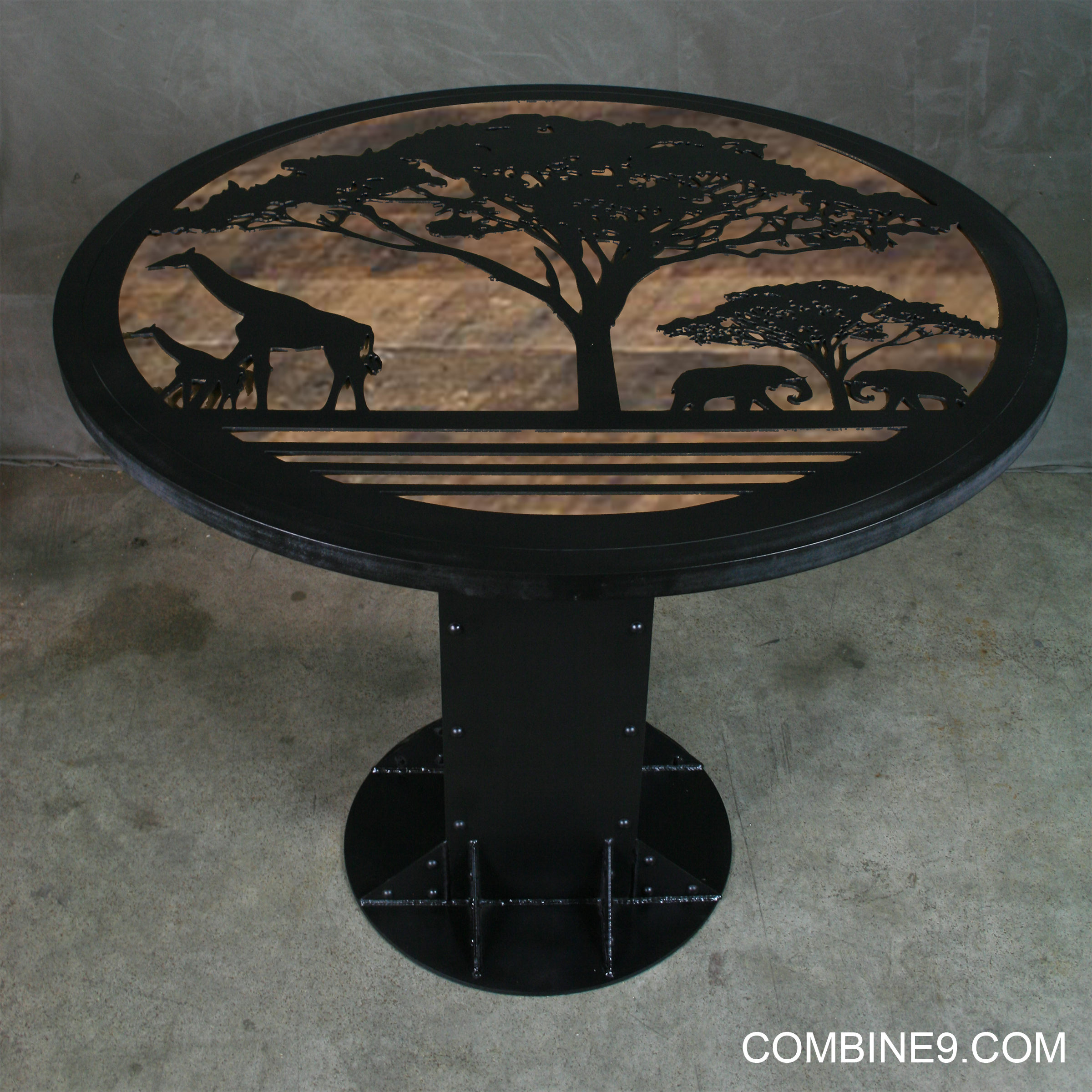 safari table