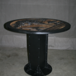 industrial i beam table