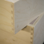 Dove tailed drawers example