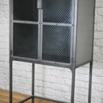 steel apothecary cabinet
