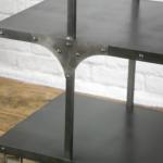 Decorative elements on shelving