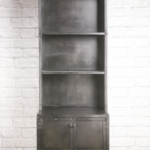 industrial retail cabinet with shelf