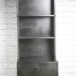 modern industrial retail display cabinet
