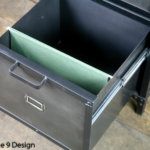 open filing cabinet drawer