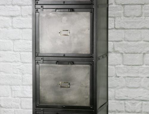 Industrial Filing Cabinet, Modern Industrial File Drawer, Vintage Industrial Office File Cabinet, Lingerie Chest, Dresser
