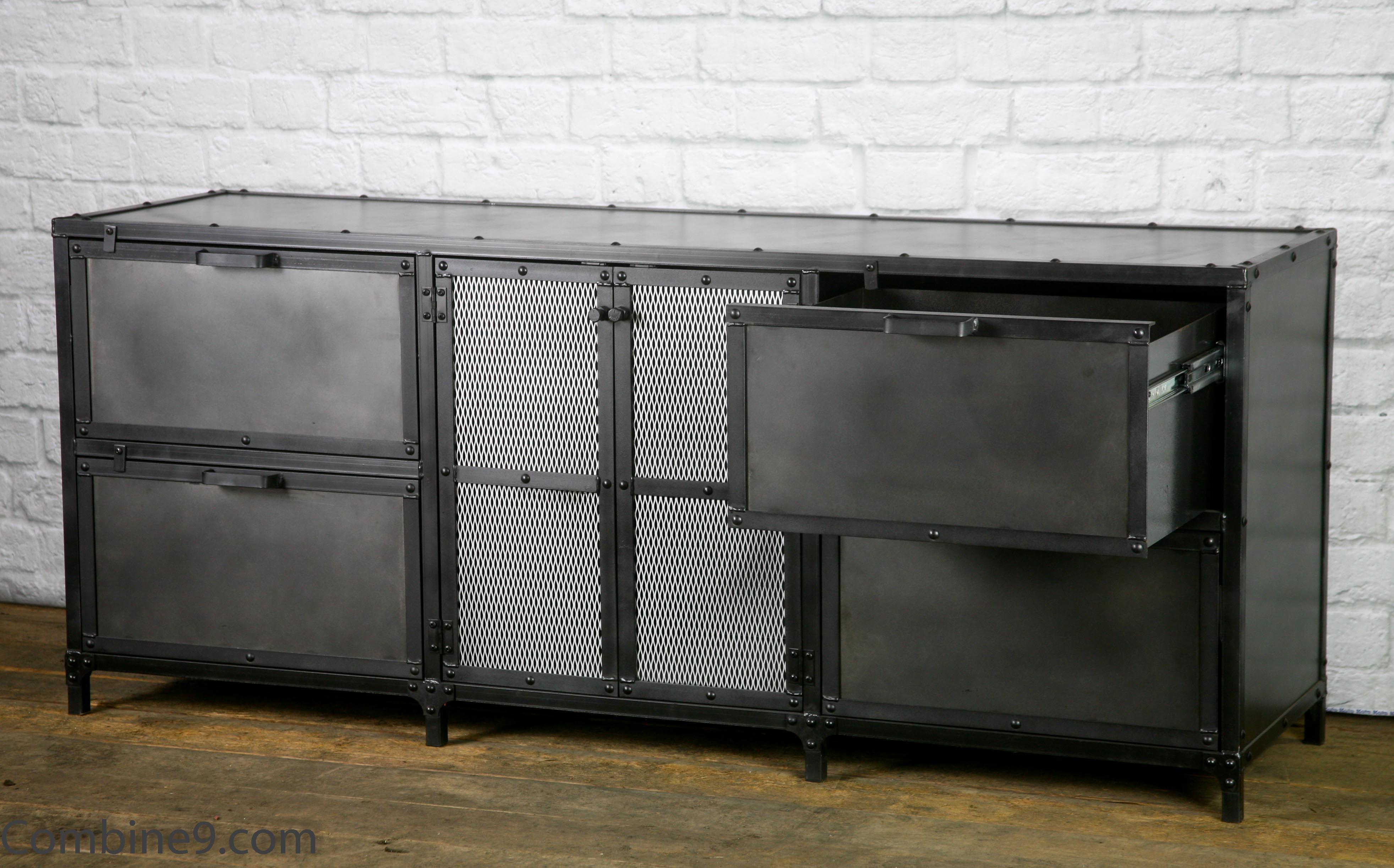 Industrial File Cabinet Vintage Industrial File Drawers