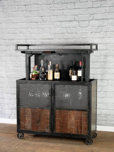 pop up bar cart