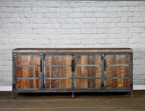 Our Newest Edition, our Rustic Reclaimed Wood Buffet