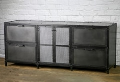 Industrial Steel horizontal filing cabinet